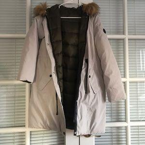 Longline Winter coat